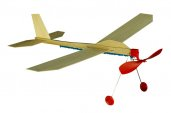 Samolot drewniany, zabawki